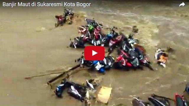 Astagfirullah, Ini Video Banjir Maut di Sukaresmi Kota Bogor