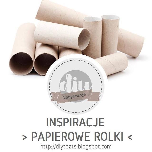 INSPIRACJE - PAPIEROWE ROLKI