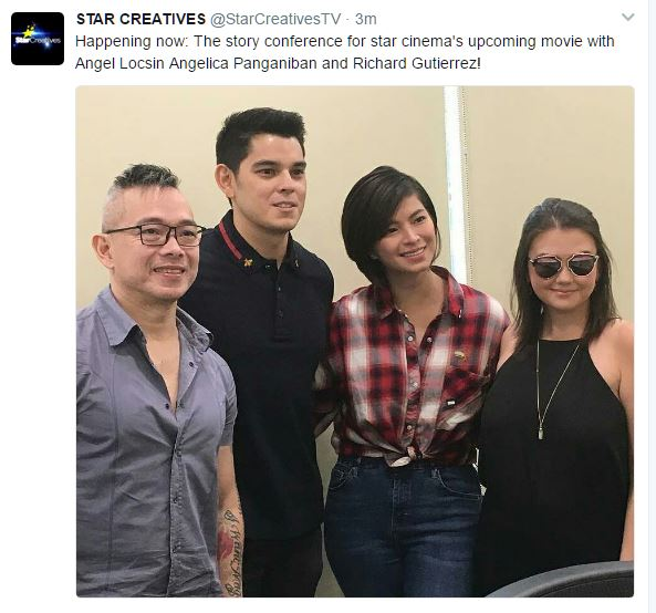 Angel Locsin and Richard Gutierrez to reunite in new Star Cinema movie