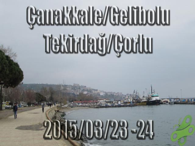 2015/23/23-24 100. Yıl Çanakkale Zaferi Bisiklet Turu (Gelibolu-Çorlu Dönüş)