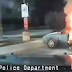 VIRAL: Man lights himself on fire inside his car!!!