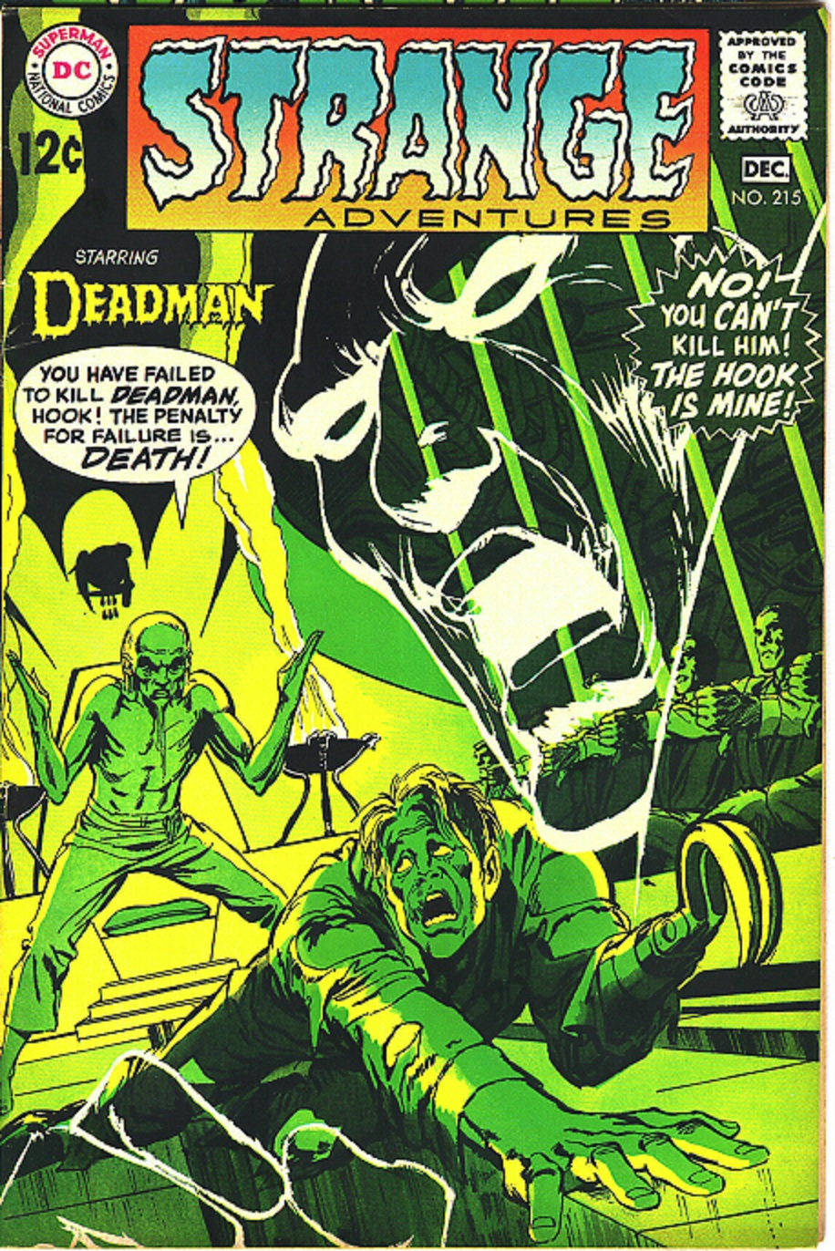 Cap N S Comics Some Deadman By Neal Adams