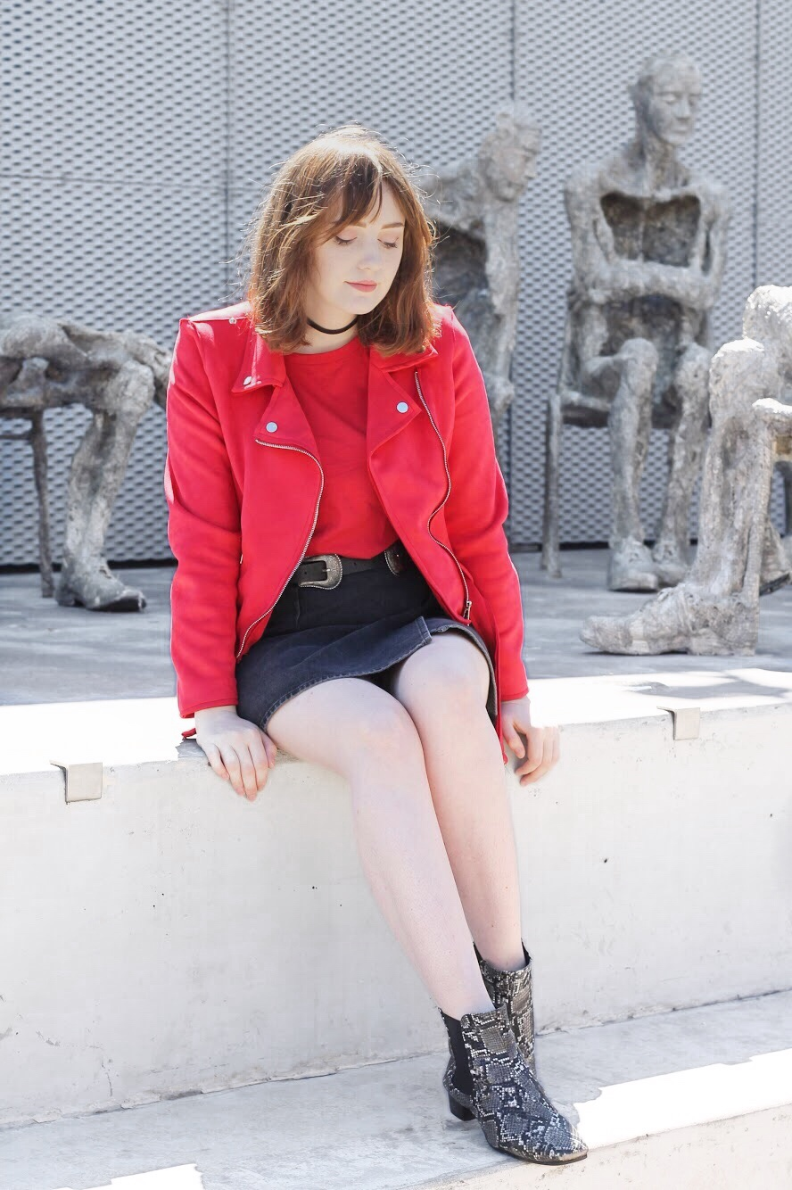 Liverpool fashion blogger discussing aw17 trends: red