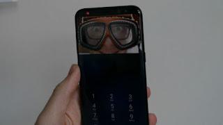 Iris Scanner Galaxy S8