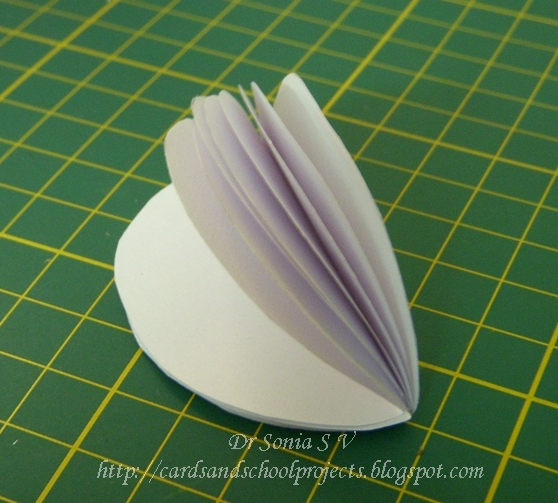 Cards crafts kids projects honeycomb flower pop up card tutorial honey comb flower pop up card tutorial mightylinksfo