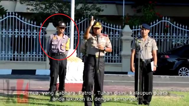 VIDEO : BENAR BENAR SALUT, Brigadir Polisi Ini Nekat Stop Mobil Kapolda. Inilah Yang Sebenarnya Terjadi!