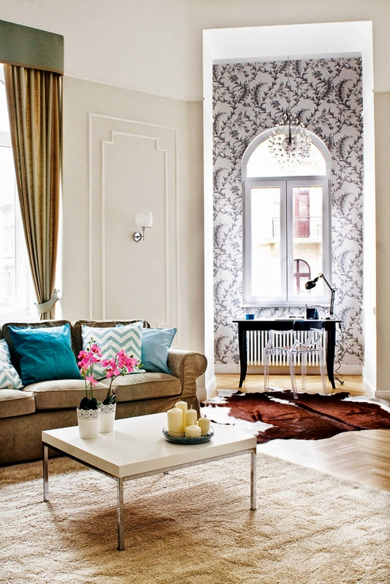 Hogares Frescos: Apartamento Restaurado del Siglo 19, Con un Estilo ...
