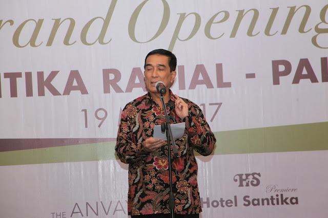 Hotel Santika Diharapkan Mampu Menjamu Tamu Asian Games Mendatang