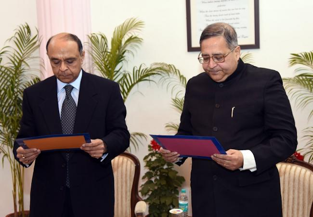 Anant+takes+Oath