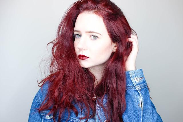 Readhead, Red Hair, Girl, Over Sized Denim Jacket