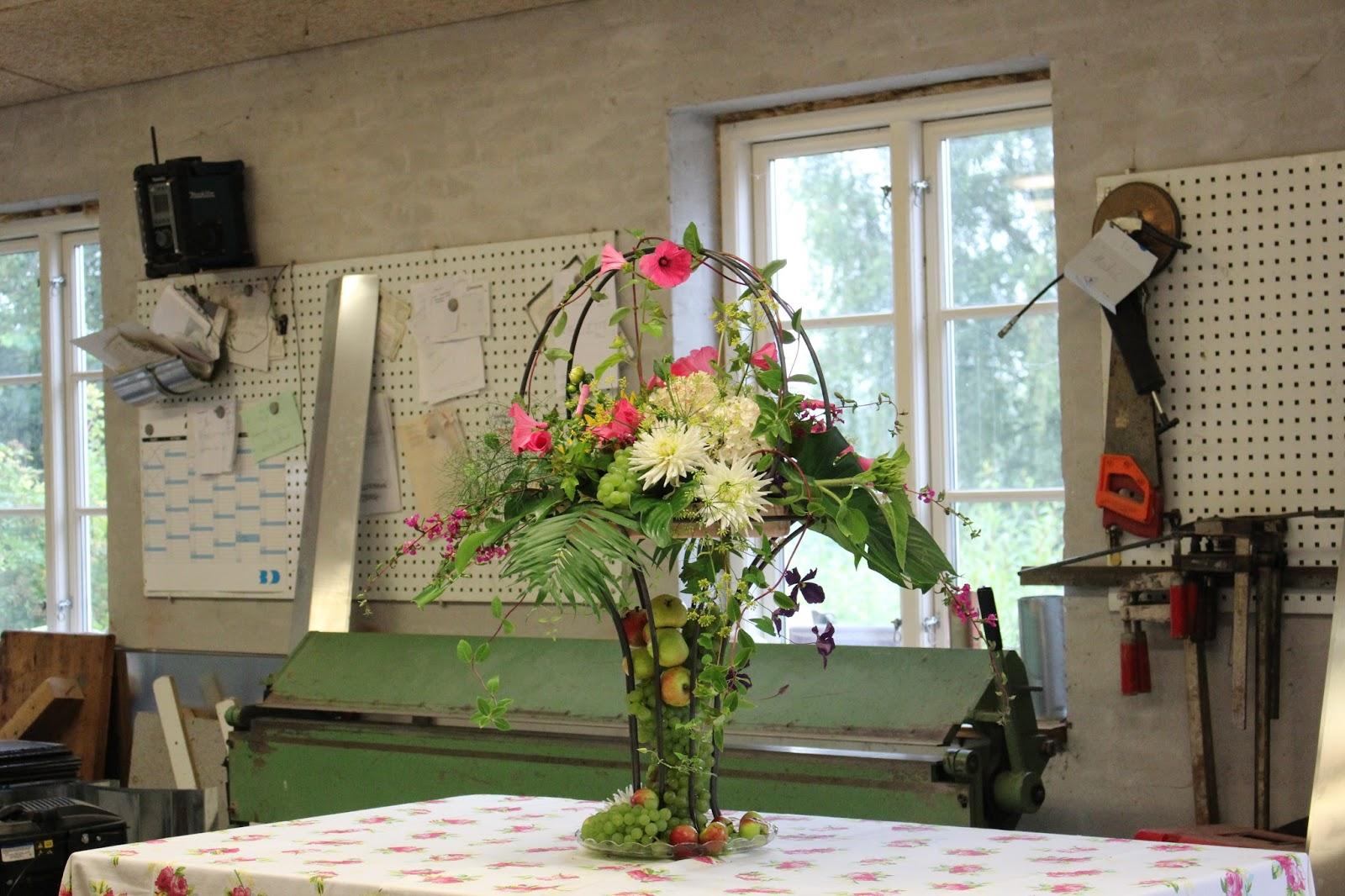 Anettesflora: en buffet dekoration