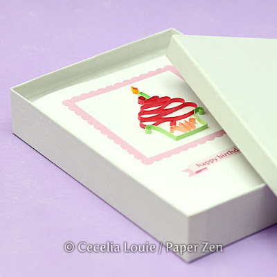 How to Mail Quilled Cards