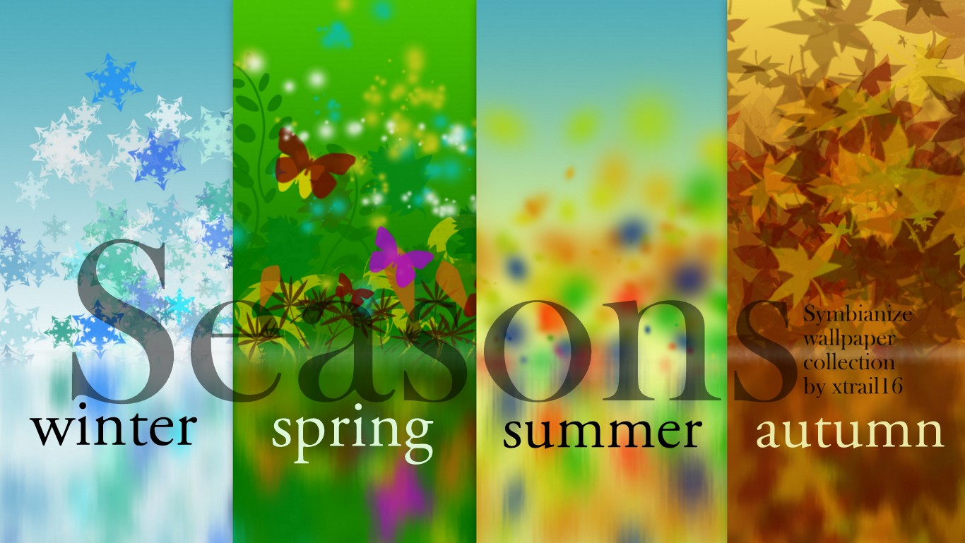 ExtraTerrAZtrial: [symbianize] Seasons Wallpaper Pack HD