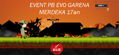 Event Bulanan PB Garena Evolution Indonesia Merdeka 17an