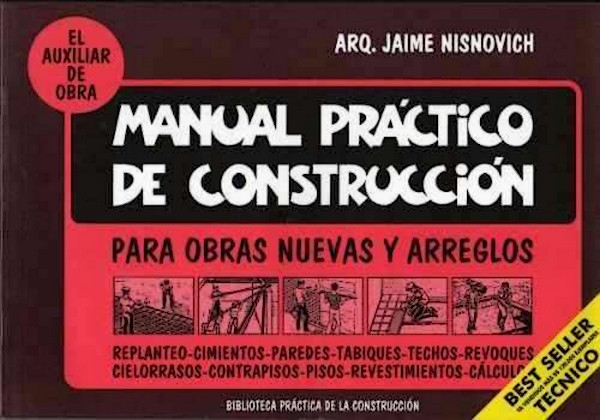 De todo un poco manual practico de construccion for Manual de construccion de piscinas pdf