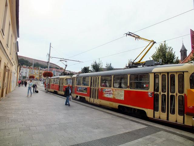 Tranvía en Bratislava