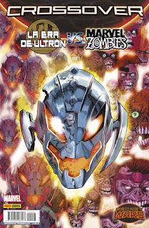 SECRET WARS CROSSOVER 8 LA ERA DE ULTRON...  Marvel comic de James Robinson y Steve Pugh SECRET WARS