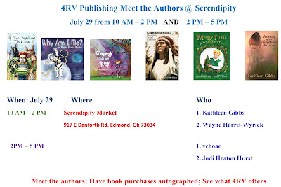 5 4RV Authors Have Signings in 2 Events July 29 - revised
