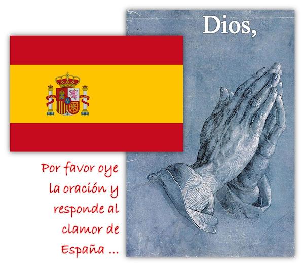 Oremos por España - Sanidad para la Gente y Eliminación del Virus