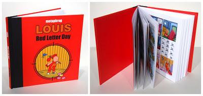 路易斯–红色的字母一天现在!