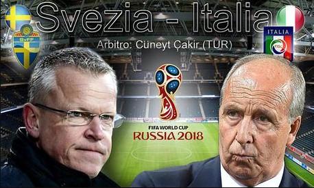 Dove Vedere SVEZIA-ITALIA Streaming e Diretta TV Oggi 10 Novembre 2017 | Qual Mondiali Russia 2018