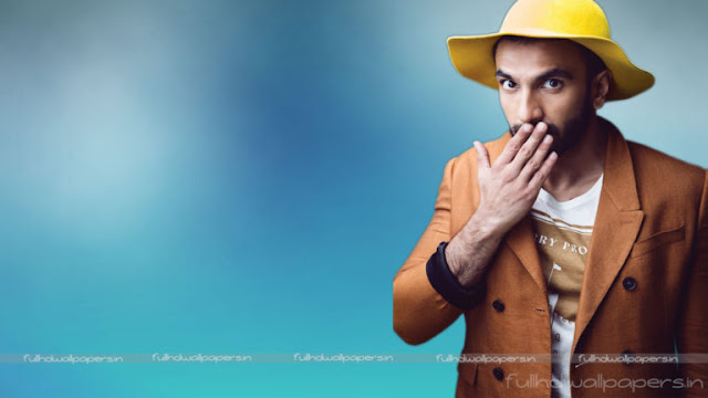 Quite Stunned Ranveer Singh HD Desktop Wallpapers