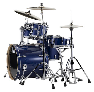 Bộ Trống Jazz Pearl Vision Birch Prussian Blue