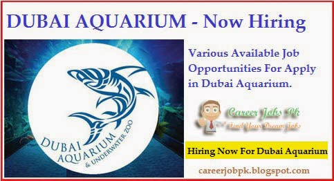 Latest Jobs in Dubai Aquarium