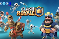 Download Game Android Clash Royale MOD Unlimited Gold and Gems