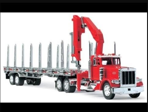 gambar truk besar mainan