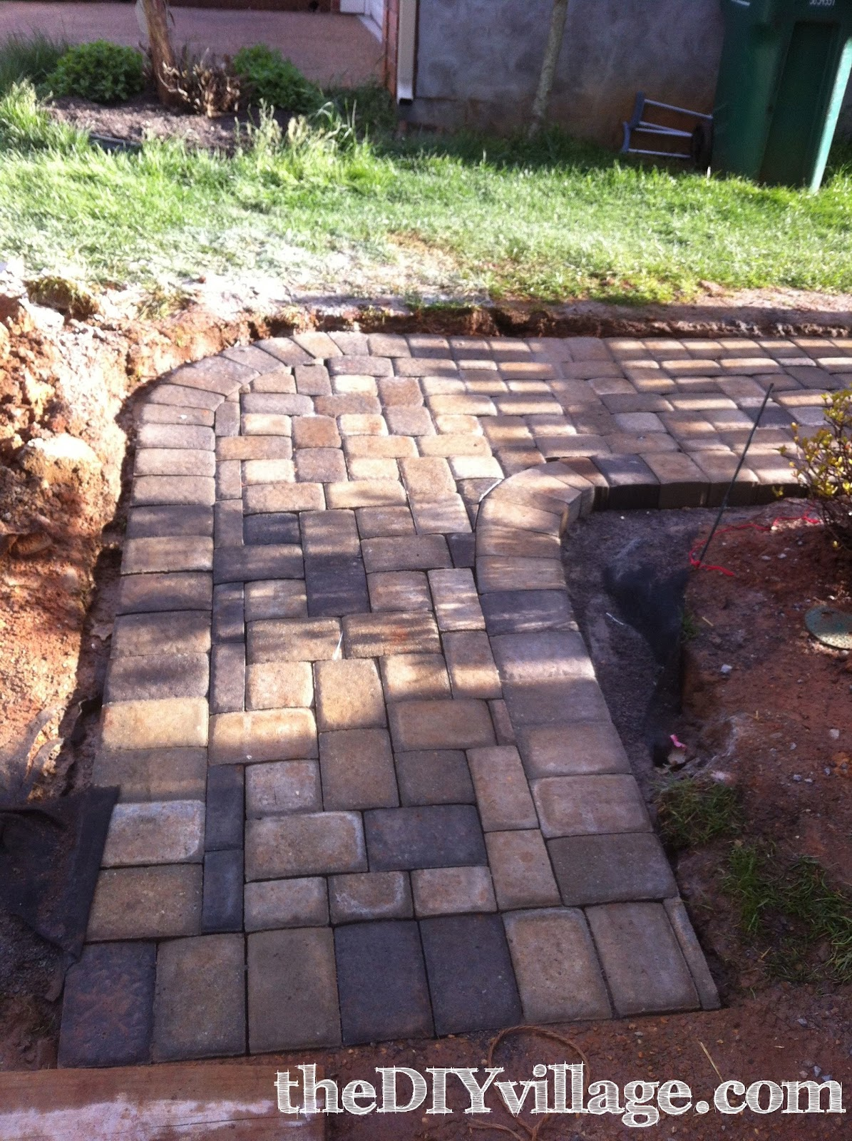 Diy Paver Path Tutorial