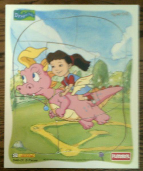 Treasure Box . . . . . 881-6463: Dragon Tales Tray Puzzle