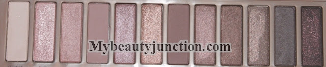 Urban Decay N@ked 3 eyeshadow palette review, swatches and photos