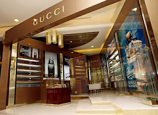 new gucci retail design