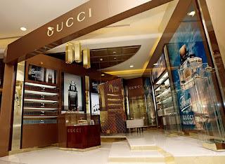 new gucci retail design
