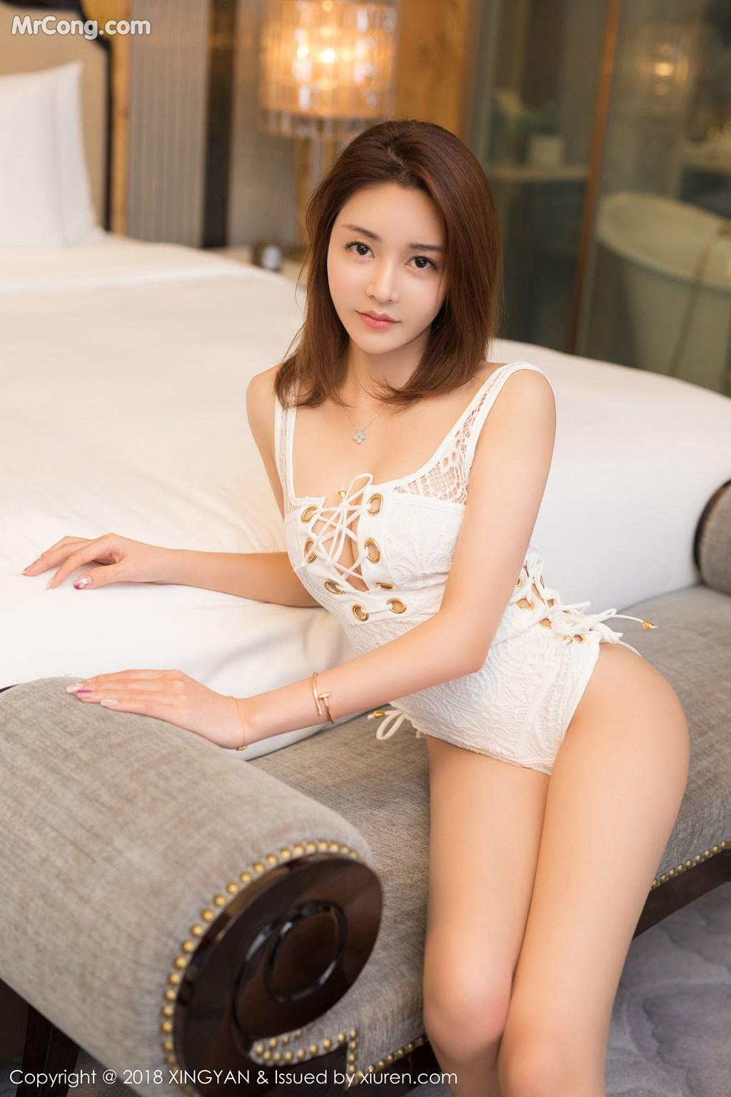 Image XingYan-Vol.099-Selina-MrCong.com-004 in post XingYan Vol.099: Người mẫu Selina思思 (42 ảnh)