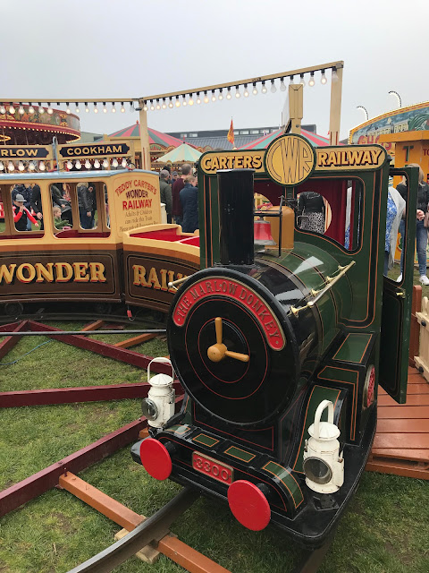 Carters Steam Fair Railway Train Ride.