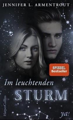 Bücherblog. Rezension. Buchcover. Im leuchtenden Sturm (Band 2) von Jennifer L. Armentrout. Fantasy, Jugendbuch.