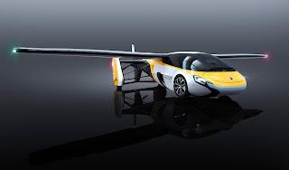Dünyanın ilk uçan otomobili AeroMobil tanıtıldı