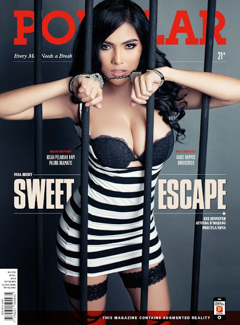 Nisa Beiby Cover Majalah Popular April 2016