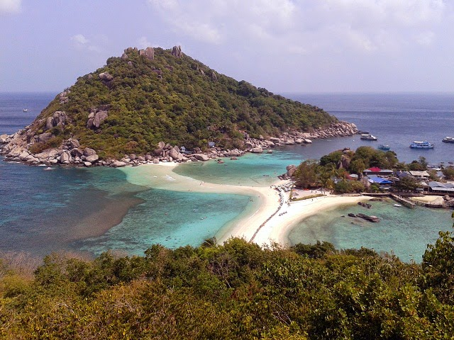 View Point Nang Yuan Island - Koh Tao