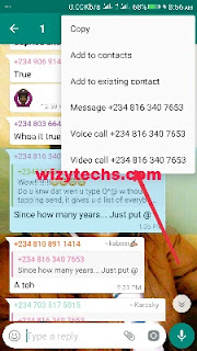Start whatsapp group video call