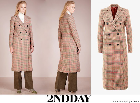 Princess Sofia wore 2nd Day Checked Duster Coat