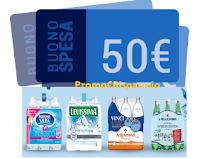 Logo Concorso ''Sete di Premi?'': vinci 72 buoni spesa da 50€ con SanPellegrino, Levissima,Vera e Acqua panna