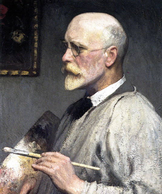 George Clausen, Portraits of Painters, Fine arts, Self-Portraits