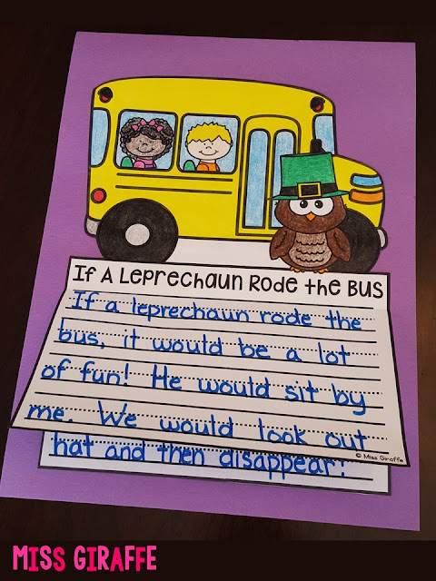 If A Leprechaun Rode the Bus and a bunch of other fun March writing prompts on this post!