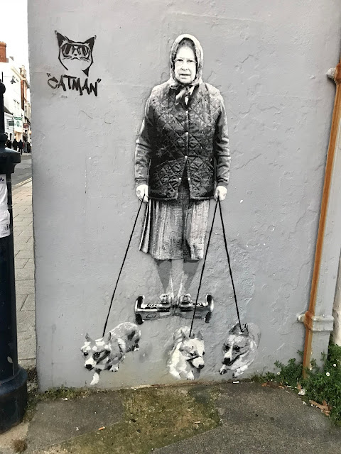 Street art, Whitstable, Kent