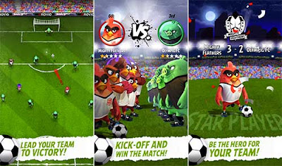 Angry Birds Goal! Mod Unlimited Money v0.4.11 Apk Terbaru