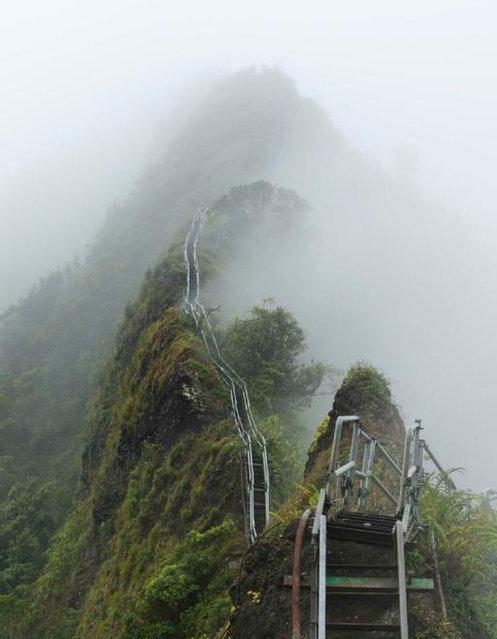 Sitio Hermoso y Peligroso, Las Escaleras de Haiku, Hawaii 2