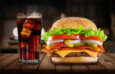 Hambúrguer engorda muito?